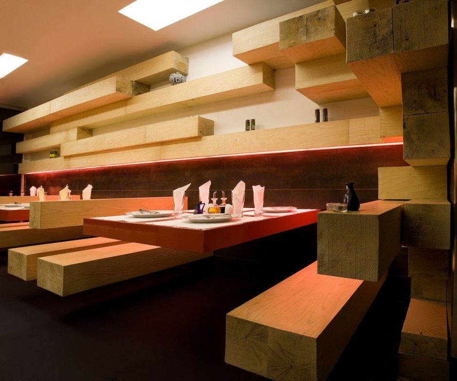 Modern ator restaurant design by expose architecture