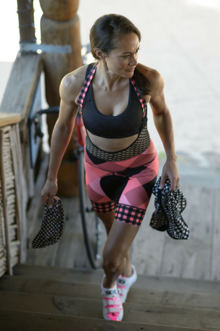 Get ready for better bathroom breaks when you cycle! Designed specifically for women our halter bib will make for a more comfortable and convenient ride!