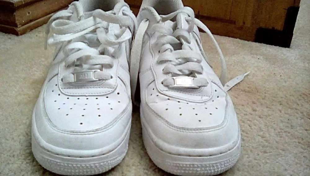 8aeaf469fb67b Women's Nike Air Force Ones In White Size 6.5 #fashion #clothing ...