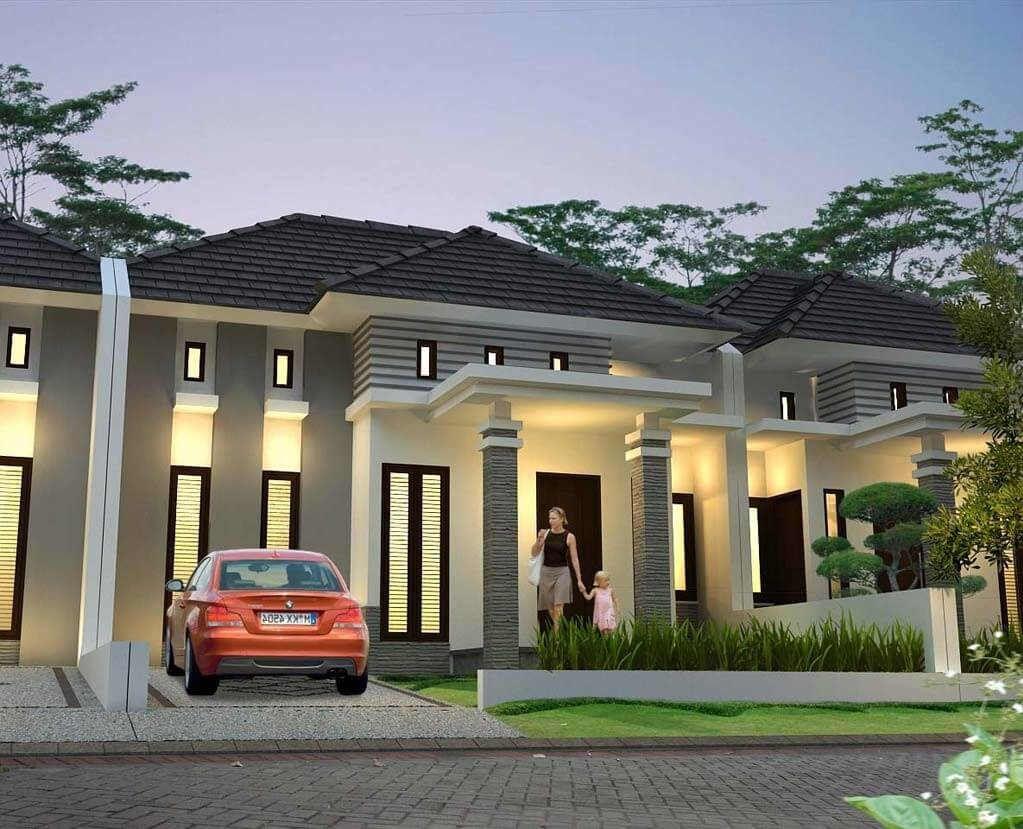 21 Gambar Rumah Mewah 1 Lantai Rumah Mewah Home Fashion Desain Rumah