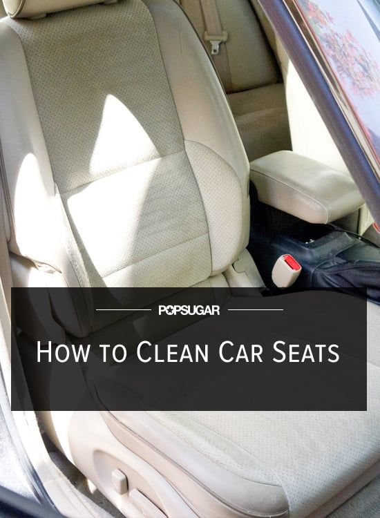 Refresh Your Cloth Car Seats With This Easy DIY Cleaning Solution