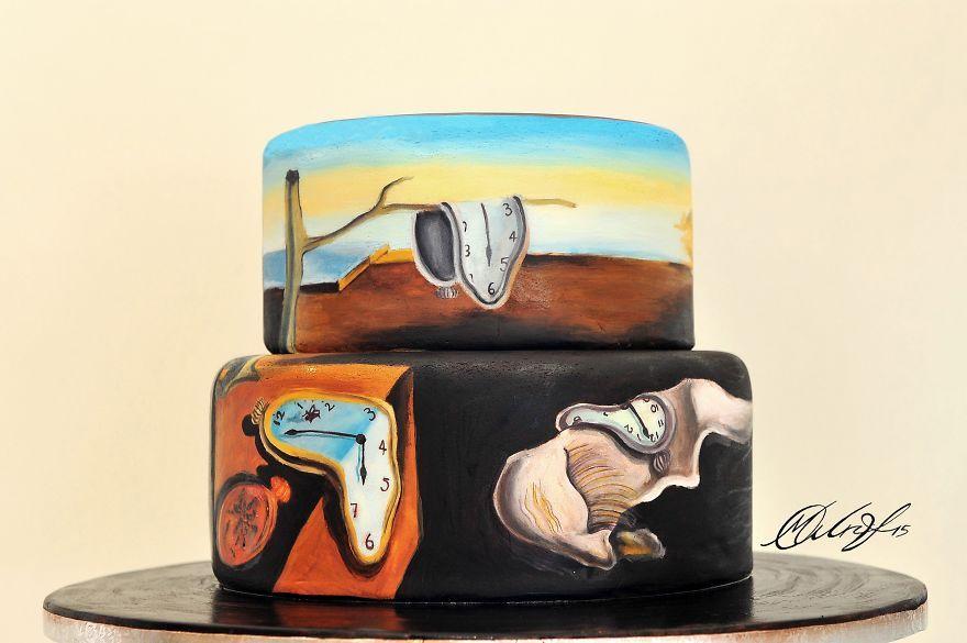 Cukrárka pri pečení zákuskov napodobňuje slávne maľby – Doba Mag.