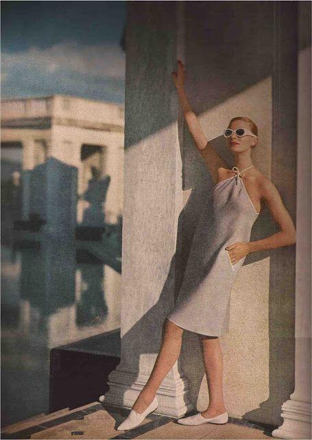 Harper's Bazaar photo by Louise Dahl-Wolfe 1958