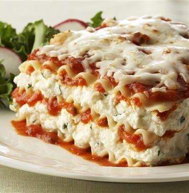 Ricotta Cheese Lasagna Recipe Easy Lasagna Recipe Recipes Cooking Recipes