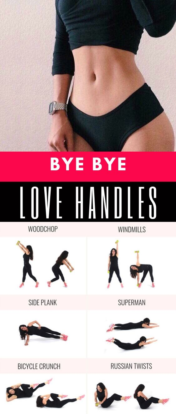 Hoe To Get Rid Of Love Handles