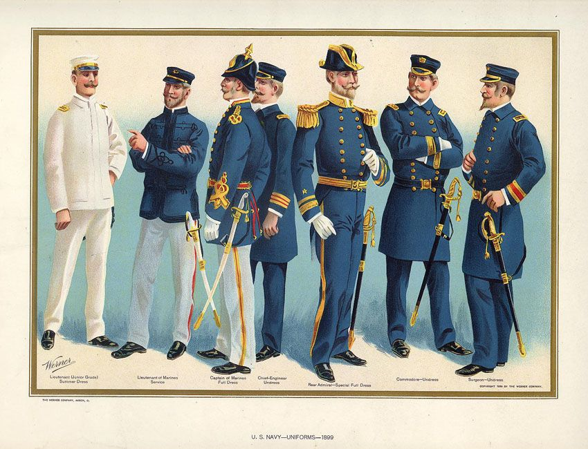 Soldiers dressed in the Uniform of the United States ...
