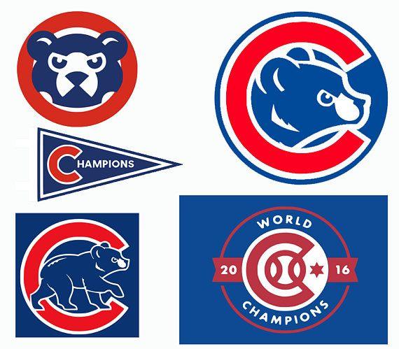image regarding Printable Cubs Logo called Chicago Cubs SVG, Chicago Baseball , Chicago Baseball DXF