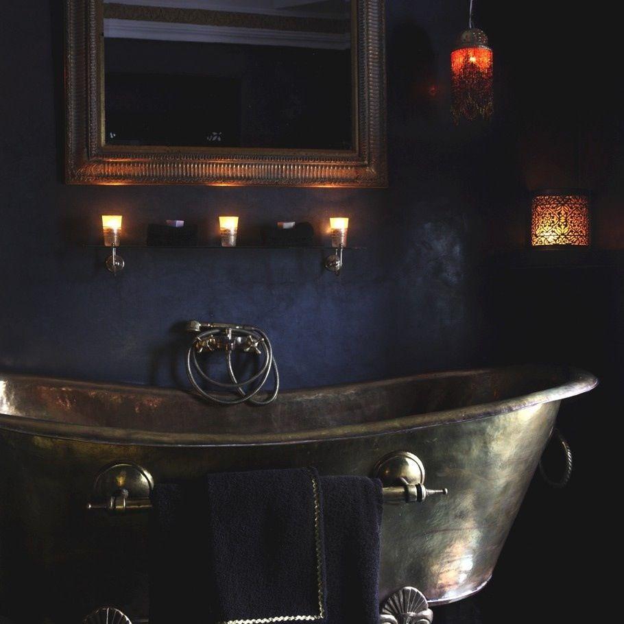 moroccan inspired bath | gothic bathroom, gothic interior