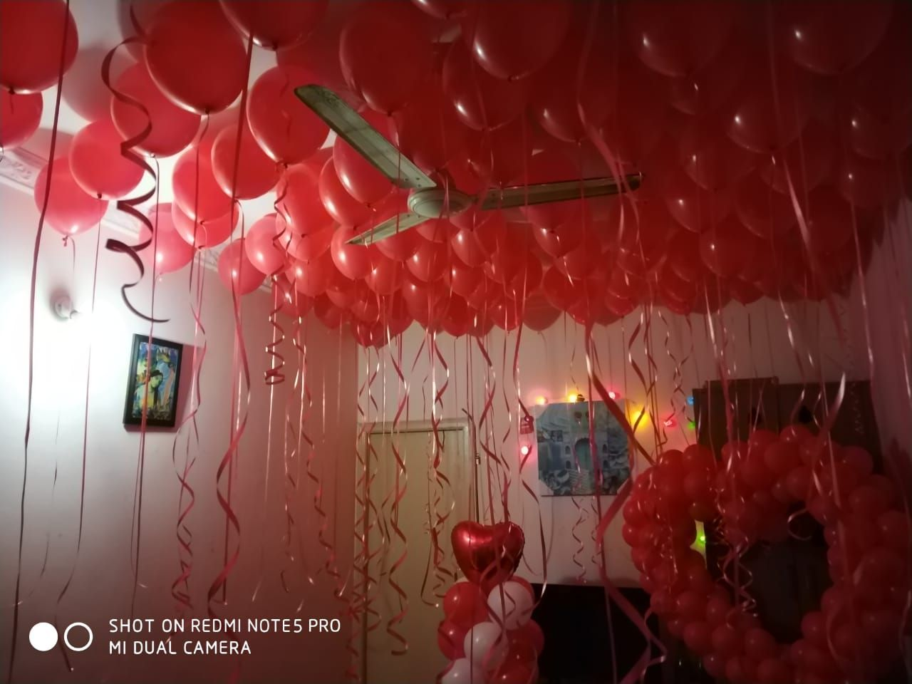 Surprise Decoration At Home Birthday Room Decorations Anniversary Surprise Birthday Room Surprise