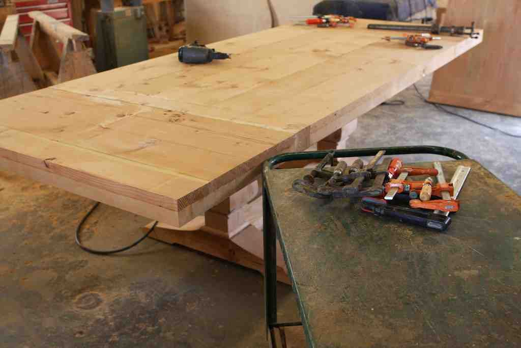 Building A Spanish Colonial Style Trestle Dining Table Mortise And Tenon Los Angeles