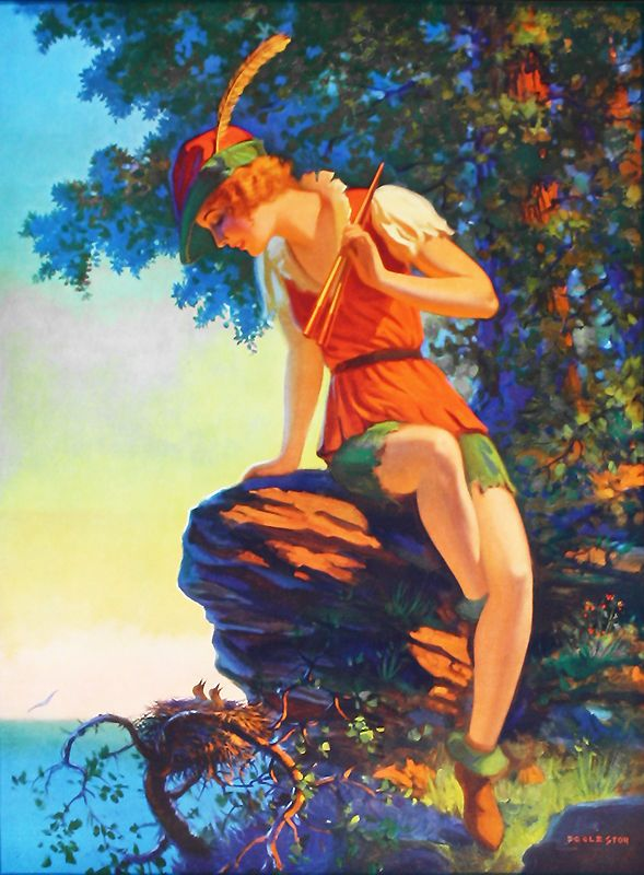 Image result for peter pan old painting