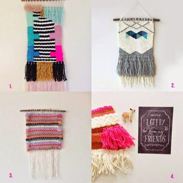 My favourite weavers of Instagram: @chiefandkewpie, @hellohydrangea, @floridakilosss,@amandarydell