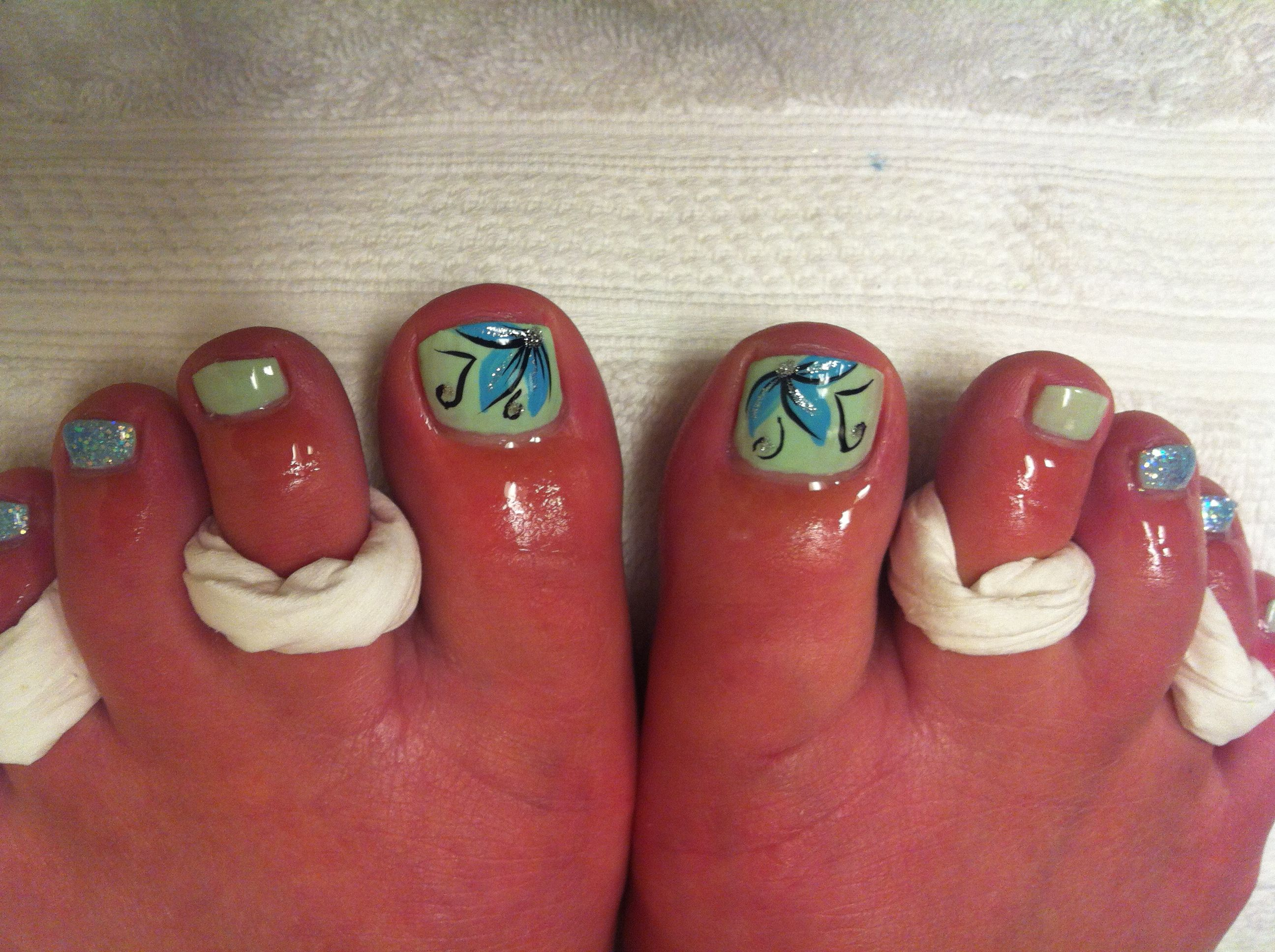 Easy Nail Art Toe Nails