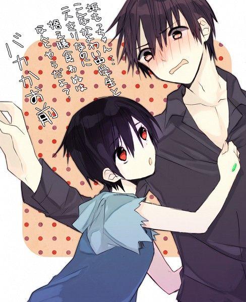 Kira Kousuke and Sakamoto Ryouta BTOOOM! | BTOOOM! | Anime, Yandere