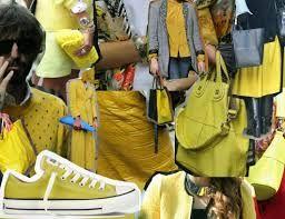 converse amarillo claro