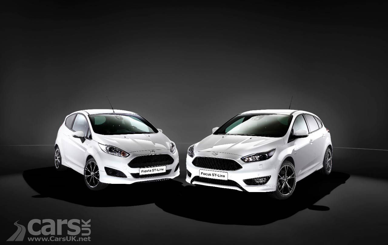 Ford Launches St Line Option With Fiesta St Line Focus St Line Ford Focus Ford Latest Cars