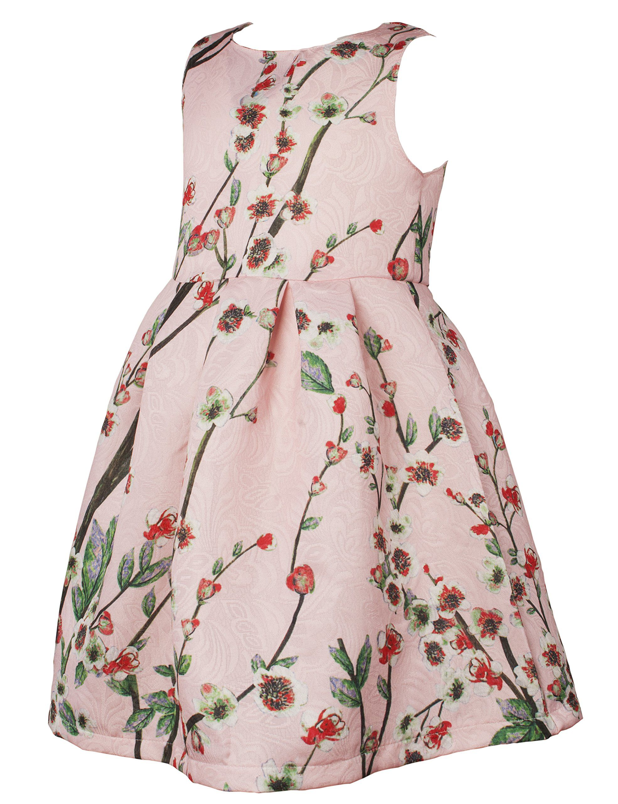 c6db0e44551a Ipuang Little Girls Lovely Flower Pattern Dresses For Special Occasions 4T  Light Pink >>> You can find out more details at the link of the image.