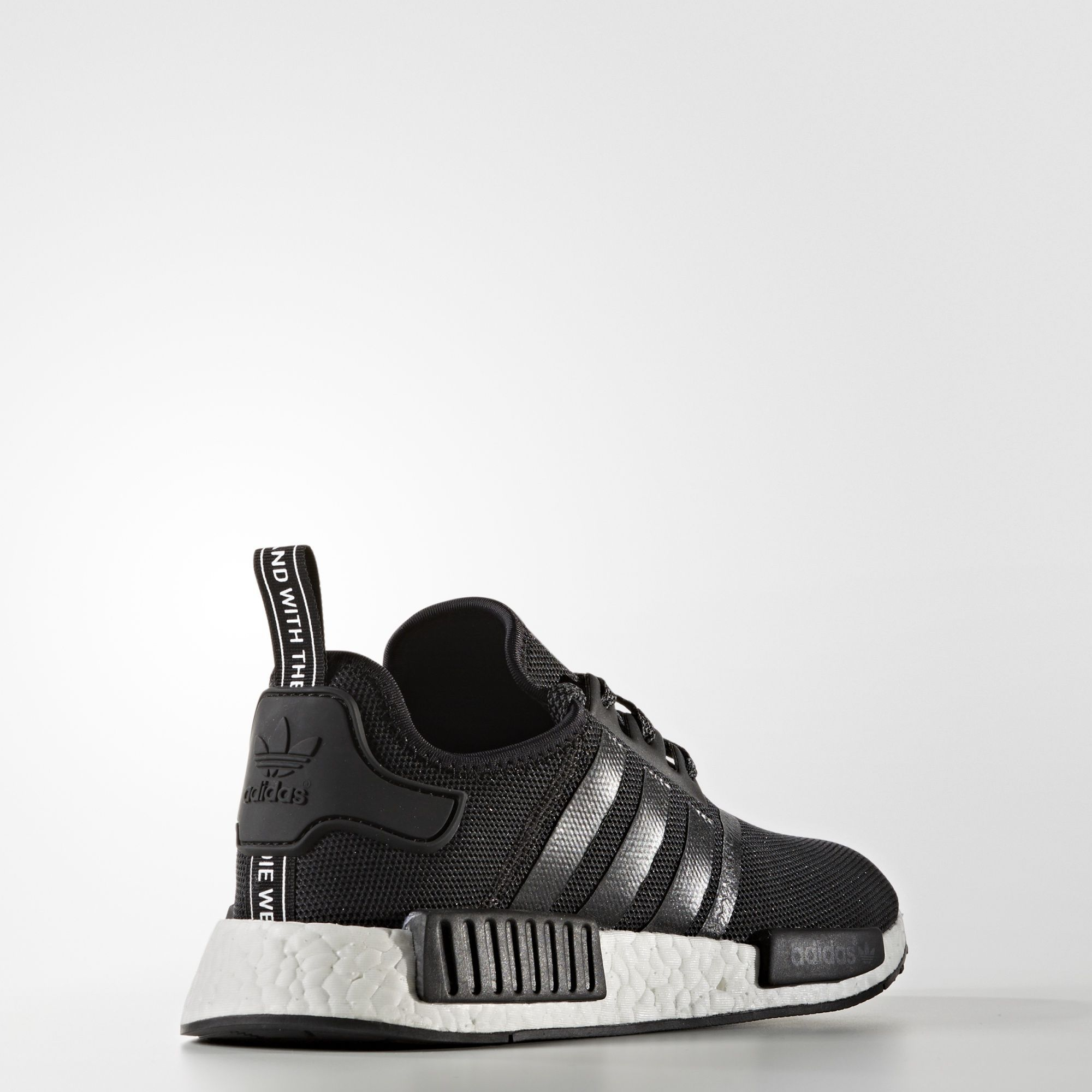sports shoes b03c9 19355 Adidas NMD R1 Reflective Core Black S31505 Core BlackCore BlackFTWR  White