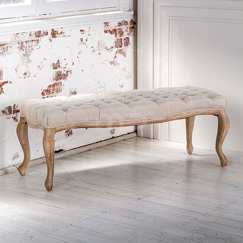 Maxime Ottoman Large   French Provincial Furniture $369