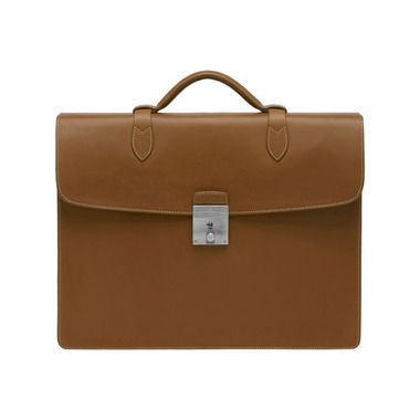 8fa70a8e39 Mulberry - Single Briefcase in Oak Soft Saddle Shoulder Men's Collection,  Briefcase, Leather Working