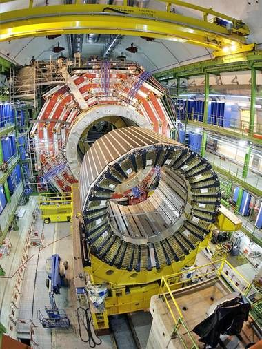 """Cern Laboratory in Geneva searching for the """"God Particle"""""""