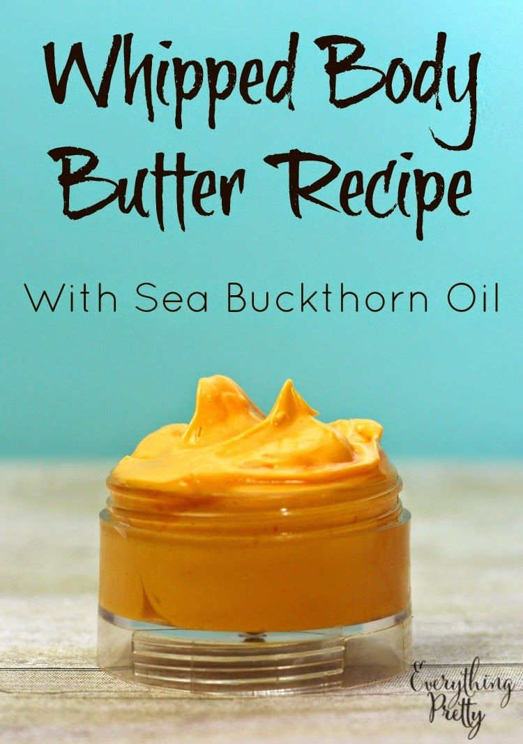 How to cook sea buckthorn oil