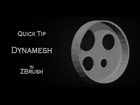▷ Quick tip tutorial: Dynamesh subtraction issue/solution in