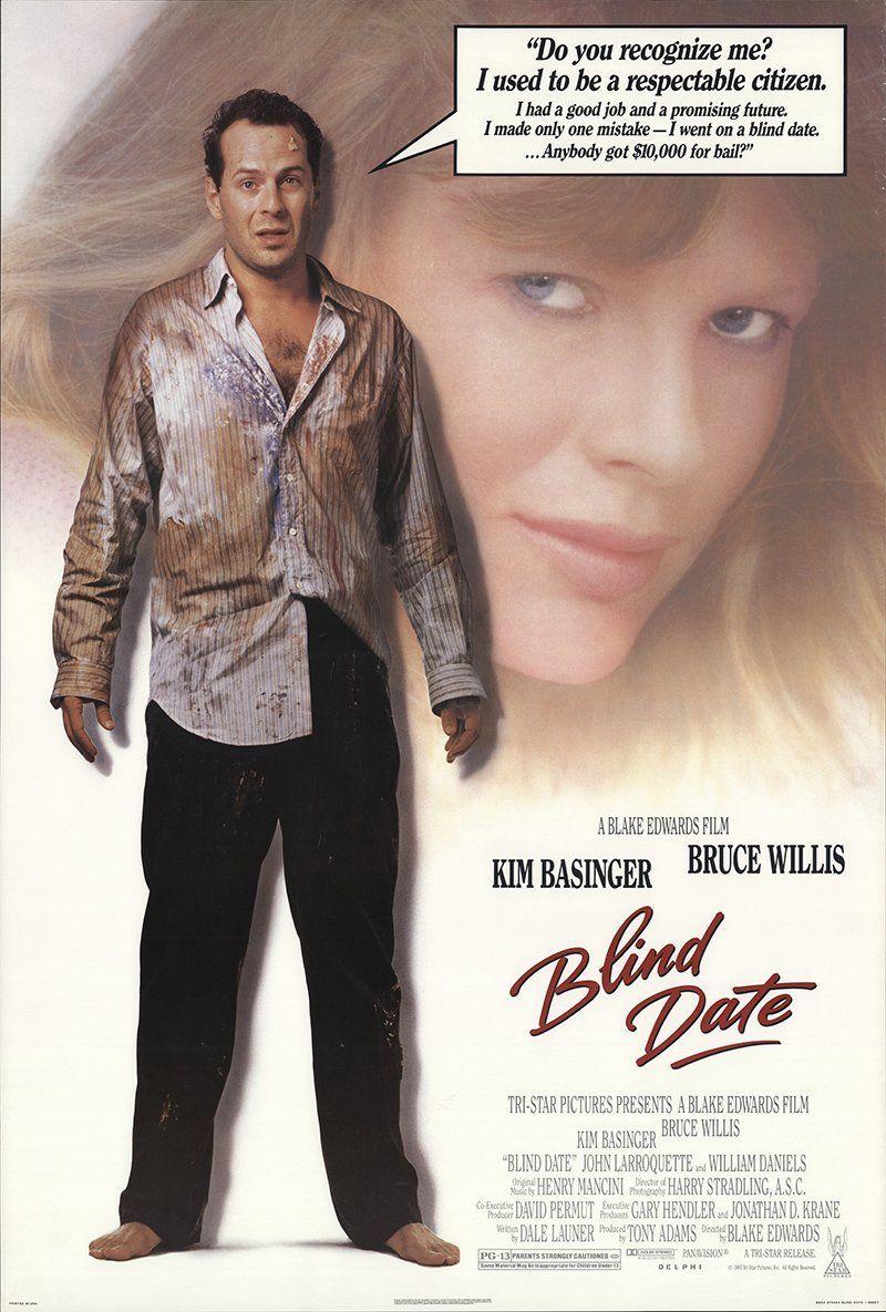 "Blind Date 1987 Authentic 27"" x 41"" Original Movie Poster"