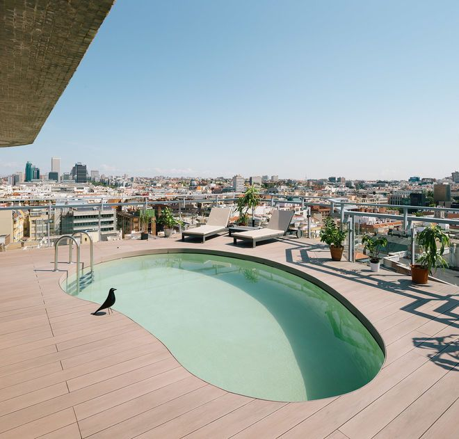 Midcentury Pool By Idoia Otegui_ Arquitectura (With Images