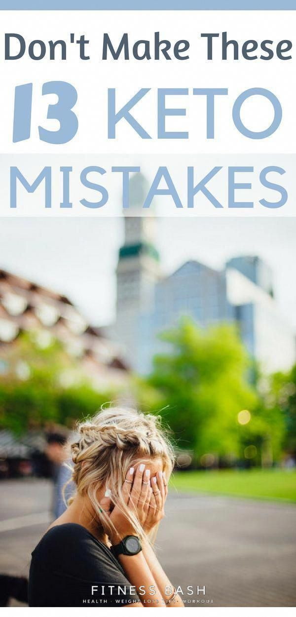 Keto mistakes in diet and keto mistakes in general which beginners make in ketogenic diet. Avoid the...