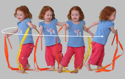 Why spinning around is so good for little kids...