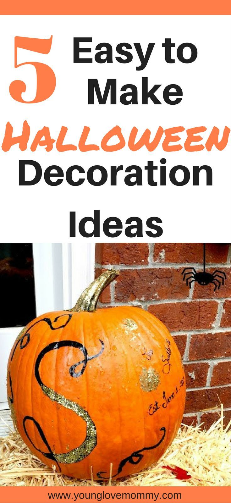 How to easily decorate your pumpkins for halloween using items you have at home with  little bit of creativity easy decoration ideas also quick  pumpkin decorations pinterest board rh