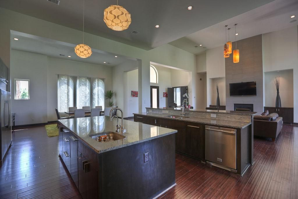 Open floor plan, the double islands!!! | Dream Home ... on 1 bedroom loft house plans, fireplace house plans, 2 bedroom loft house plans, simple loft house plans, small loft house plans,