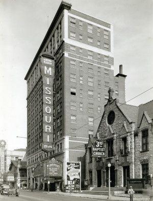 Missouri Theater 610 North Grand Avenue 1935 St Louis Missouri Missouri Kansas City Missouri