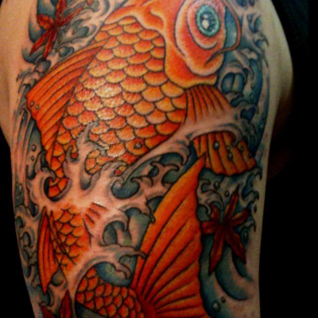 Koi jumping the dragon gate - tattoo | tattoos | Pinterest ...