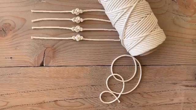 Photo of DIY Macrame Decorative Knot