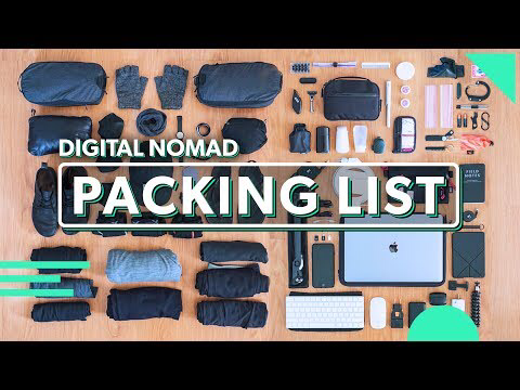 (25) The Ultimate Digital Nomad Packing List | 81 Items For Minimalist Carry On Travel - YouTube #ultimatepackinglist (25) The Ultimate Digital Nomad Packing List | 81 Items For Minimalist Carry On Travel - YouTube #ultimatepackinglist