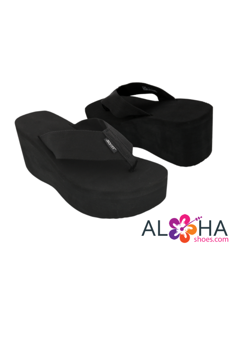 5af829a6f Scott Women s Wedge Wahine Platform Beach Sandals