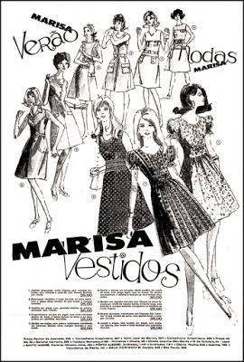 Anúncio Loja Marisa - 1971 | Propagandas vintage, Anúncios ...