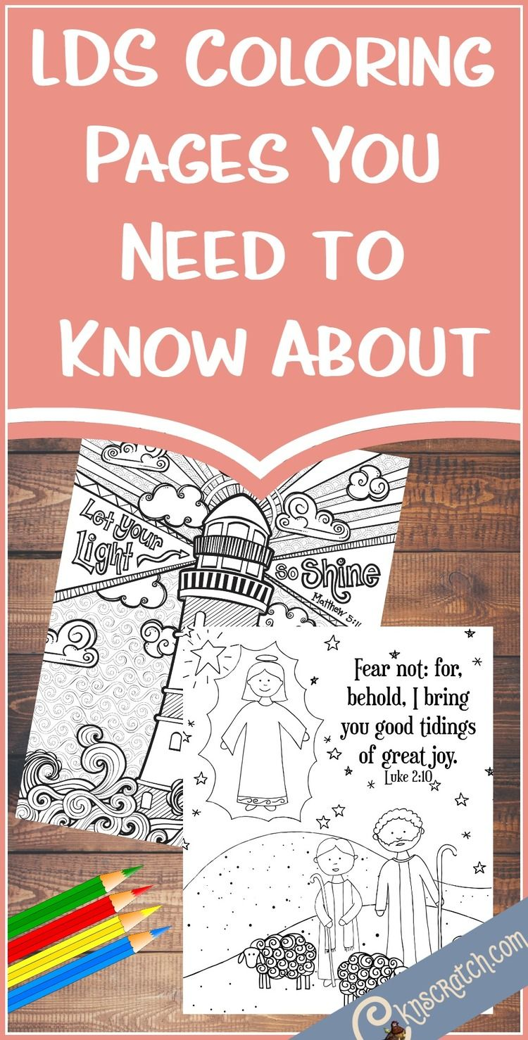 LDS Coloring Pages You Need to Know About | Primaria sud, LDS y La ...
