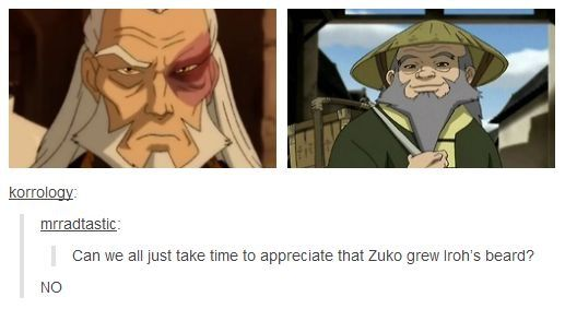 Can We All Just Take Time To Appreciate That Zuni Grew Iroh S