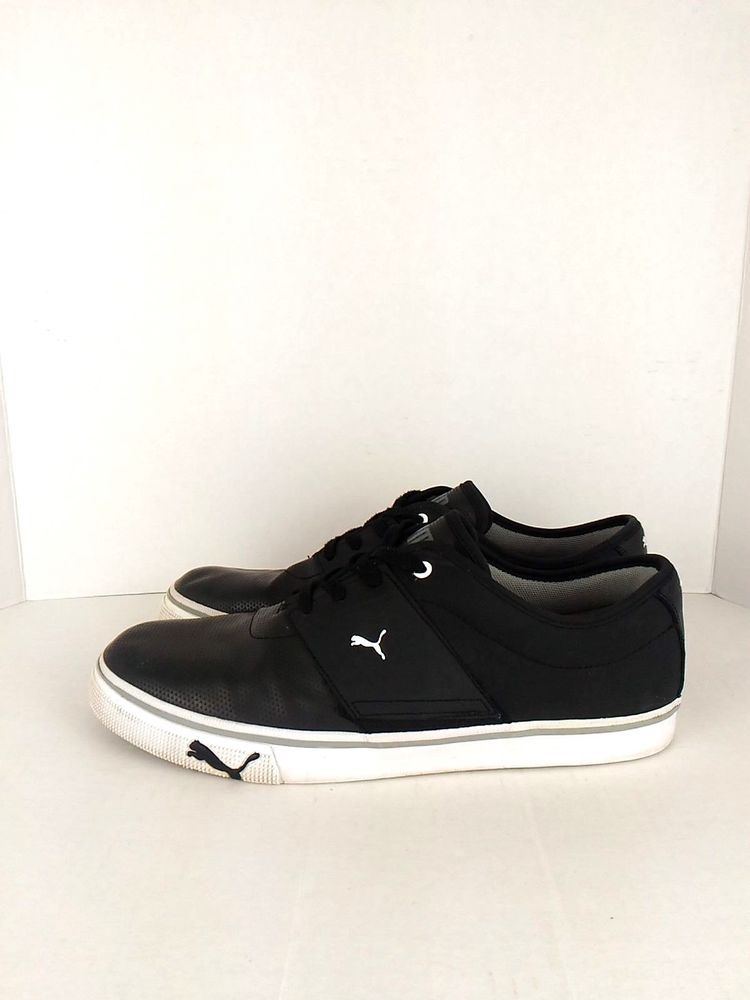 vente chaude en ligne a2ae2 6f5d4 Puma Sport Lifestyle Men's 11.5 Black Low Top Sneakers ...