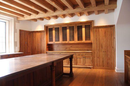 Ruard Veltman Architecture | Country English Manor, Nashville, TN | kitchen storage