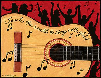 SW MUSIC CHART GLEE | Classroom Posters - TCR7720