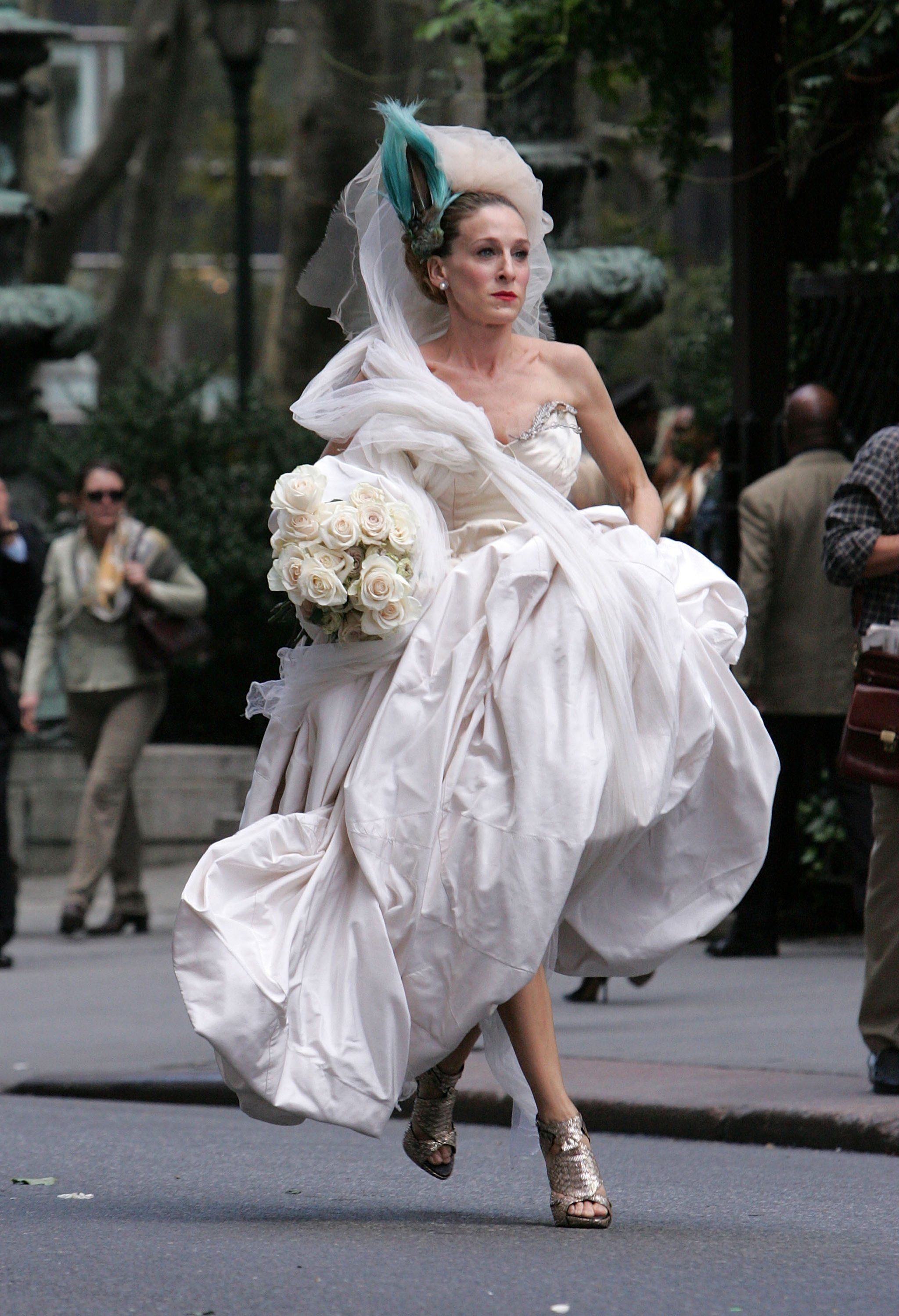 See All The Wedding Dresses That Didn't Make It Into The Sex And The City Picture