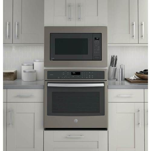 Ge Profile Series 2 2 Cu Ft Built In Microwave Gray Built