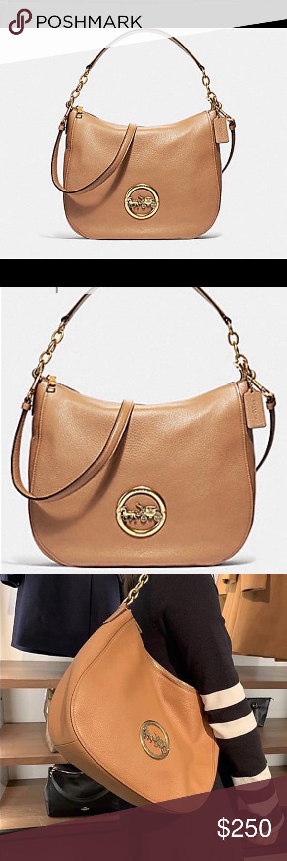 097cb9dc702b NWT authentic Coach Elle hobo tote handbag NWT Coach Bags Shoulder Bags