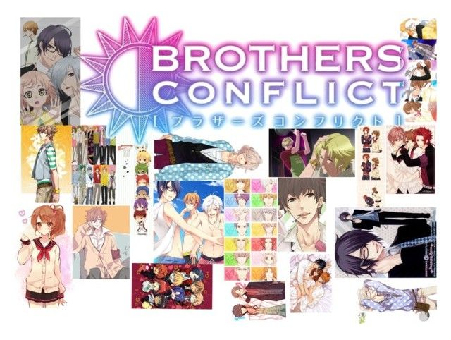 """brother conflicts"" by dreabelly ❤ liked on Polyvore featuring art"