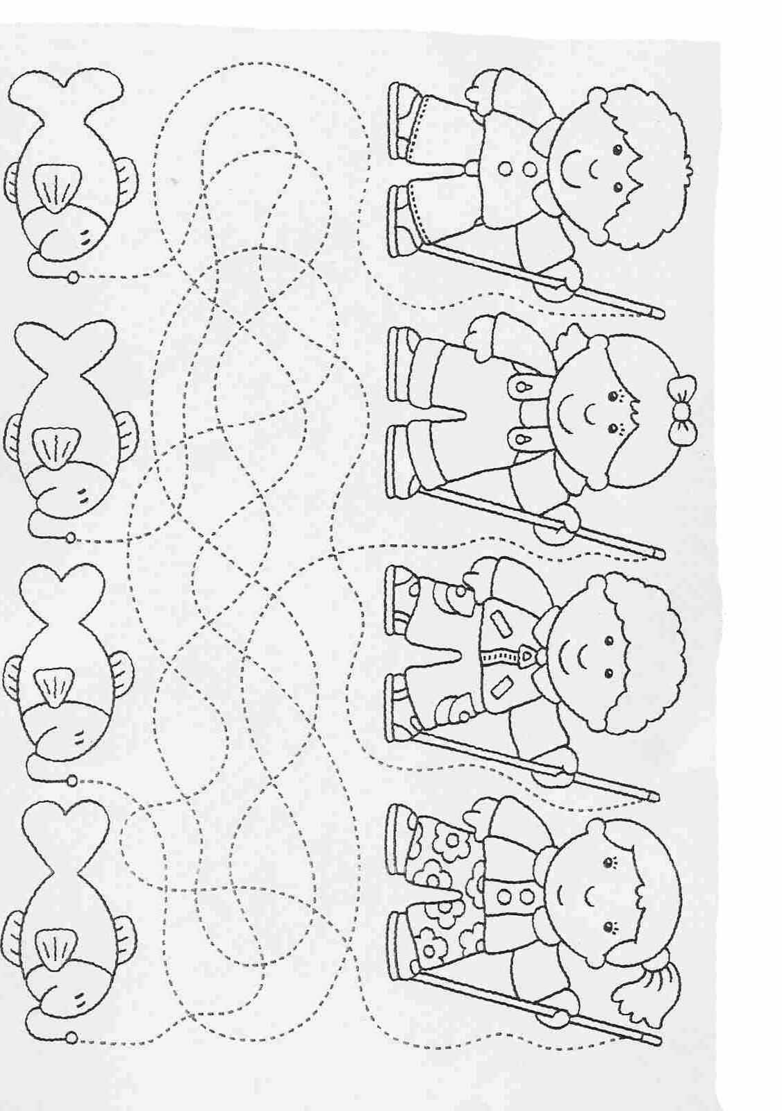 Printable worksheets for kids. Complete the drawings 37 ...