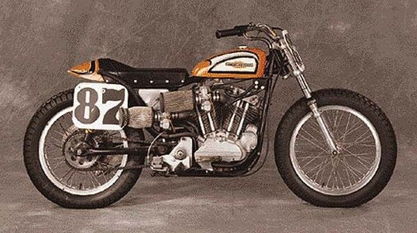 Harley Davidson: 1972 Harley Davidson Xr750 Mark Brelsford